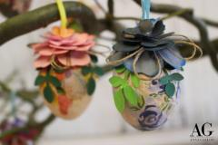 Uova-decorate-blu-e-rosa