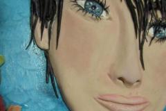 """Particolare decoro """"Alessandra Amoroso"""""""