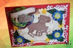 Biglietto personalizzato Buon Compleanno con segno zodiacale Ariete