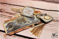 Card preziose 500 Lire, un dono studiato di elementi che riportano a ricordi passati. Un regalo che sorprenderà il destinatario. tutto eseguito a mano